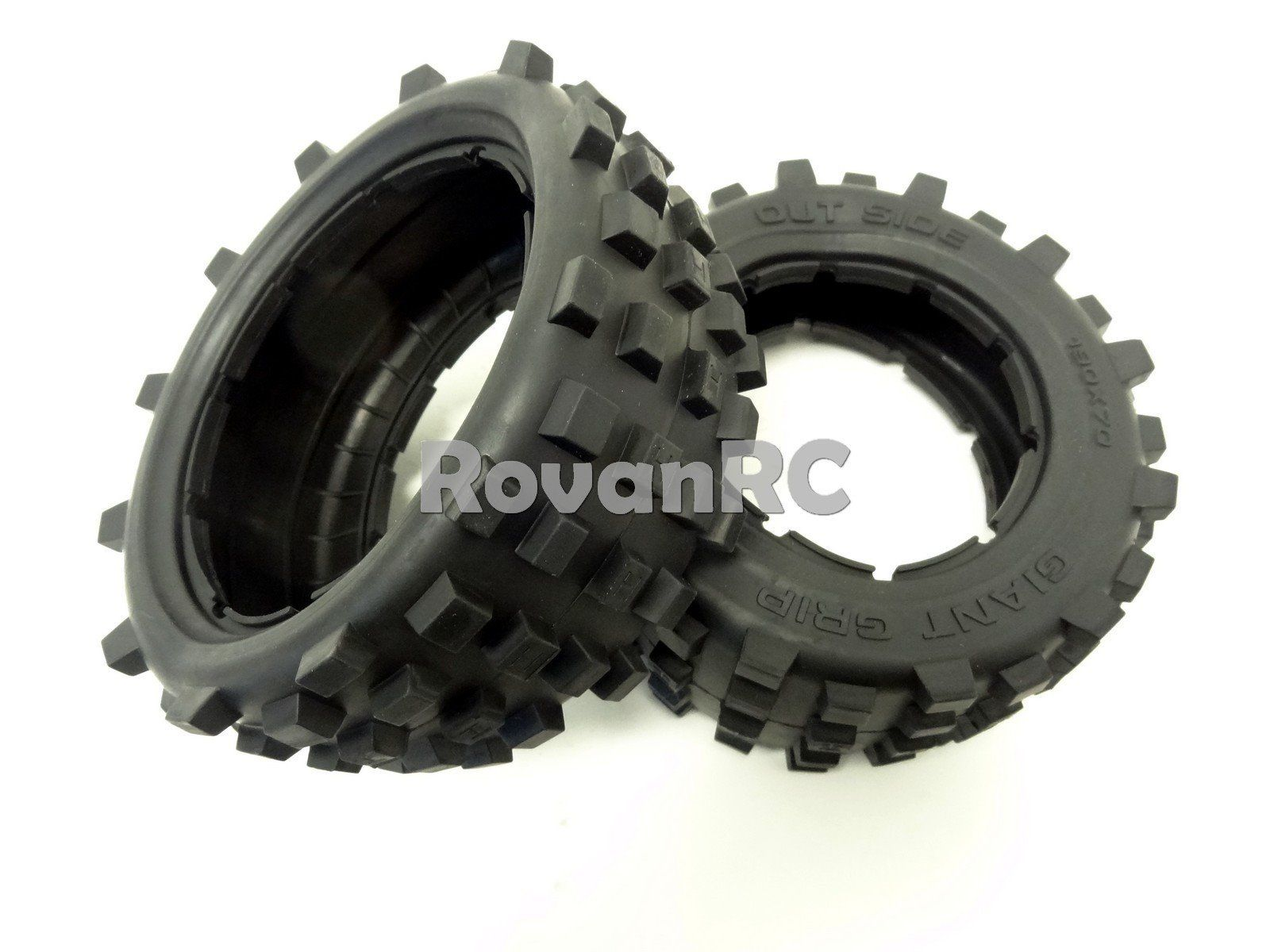1 5 MadMax Giant Grip Monster Tires 2 LOSI 5IVE T DBXL King Motor X2 Rovan