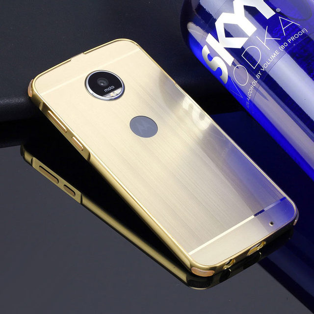 Phone Case for Lenovo MOTO Z Play Aluminum Metal Frame + Wire ...