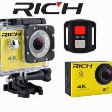 F60R Ultra HD Action camera 4K 30Fps 16MP Wifi Camera 1080P 60fps waterproof Cam Helmet Bike Cam Sport Video camera