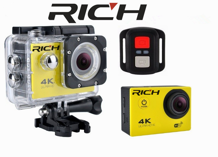 F60R Ultra HD Action camera 4K 30Fps 16MP Wifi Camera 1080P 60fps waterproof Cam Helmet Bike Cam Sport Video camera