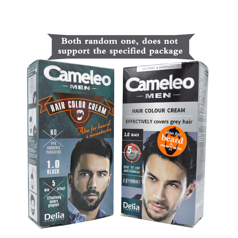 Delia Cameleo Beard & Mustache colour cream Effectively Covers Grey Hair  Tonic Crayons for Hair Color Cream black and Dark Brown-in Hair Color from  ...