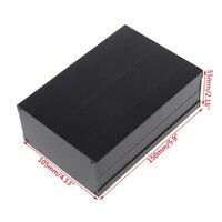 OOTDTY 150x105x55mm DIY Aluminum Enclosure Case Electronic Project PCB Instrument Box