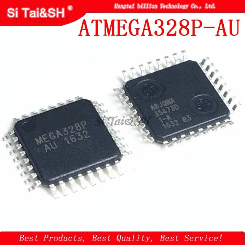 1pcs  ATMEGA328 ATMEGA328P ATMEGA328P-AU ATMEGA328P-UATMEL TQFP32 QFP MEGA328-AU SMD New And Original