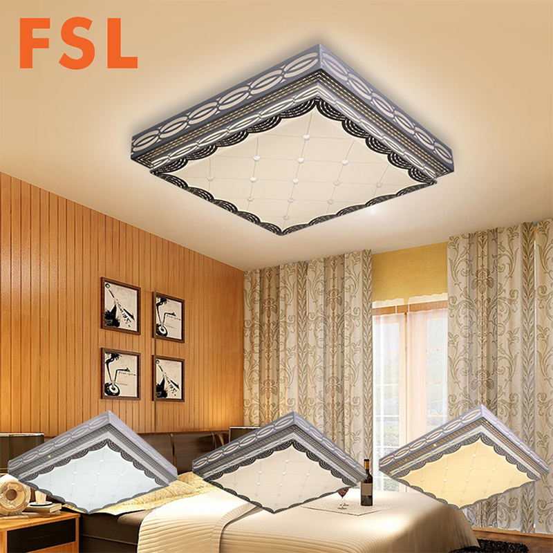 FSL 30 W LED Vierkante Vorm Inbouw Plafondlamp Moderne Woonkamer ...