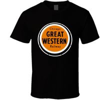 Chicago Great Western Railway Logo T Shirt T Shirt Discount 100 % Cotton T-Shirt for Men'S Chinese Style Breathable