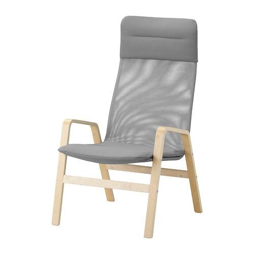 ikea lounge chair nuo bien armchair single high back porch minimalist fashion