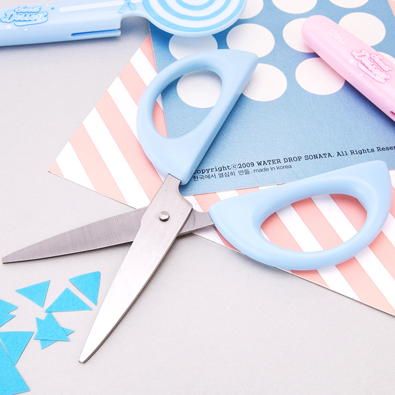 Scissors Cutting Supplies Reasonable Children Plastic Mini Safety Scissors Handmade Diy Photo Album Laciness Scissors Tesoura Paper Lace Diary Decoration