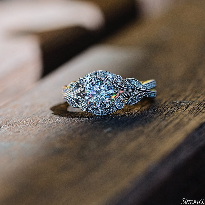 2019 nuevo anillo de piedra blanca de circón de cristal para mujer, joyería de boda de Color plata 925, anillos de compromiso para mujer BAMOER nueva colección 100% Plata de Ley 925 Animal mascota perro gato huellas anillo de dedo para mujer compromiso joyería SCR366