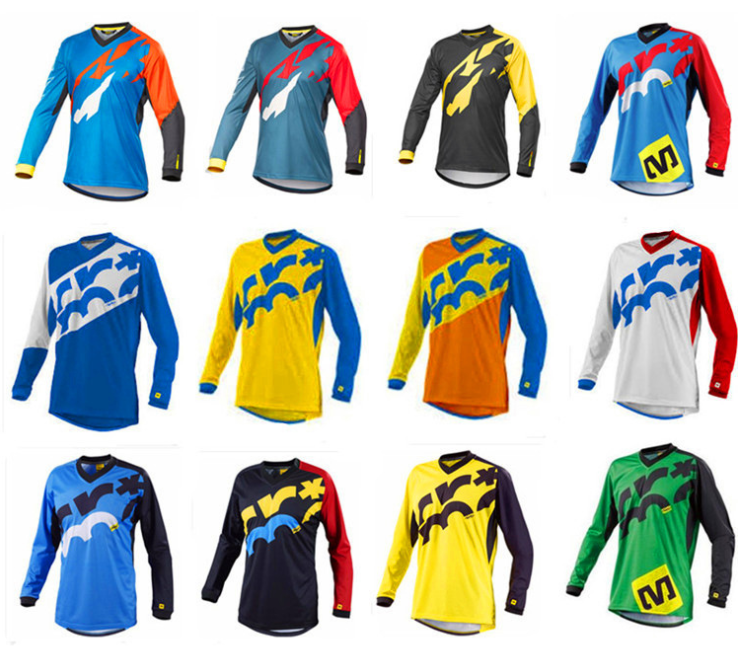 2018 Ropa de Ciclismo 2019 nuevo siete Soy Dh tomar personalizado para motocross Ciclismo de manga larga Camisetas cuesta abajo camisas Maillot
