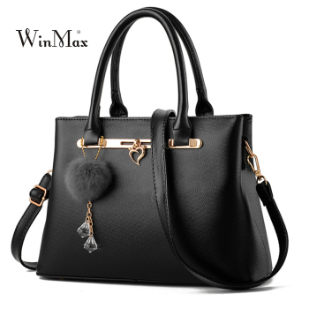 Hairball Bags For Women 2018 Handbags Ladies Luxury Shoulder Bag Designer Tote Bags Handbag Female Leather Messenger Bag Bolsas