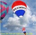 O envio gratuito de alta qualidade hot air balloon kite soft fácil com controle de linha de pipa weifang kite string linha power pro kitesurf