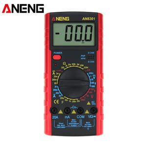 ANENG Digital Multimeter AN8301 Capacitance Voltage-Current-Resistance Portable LCD AC/DC