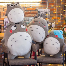 40/50/90CM Japanese Cartoon Lovely Style Plush Totoro Toys Stuffed Baby Doll Cute Movie Character Children Birthday Kawaii Gift