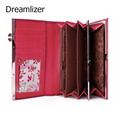 3 Fold Solid Candy Color Women Clutch Purses Long Carteira Women Wallet with Metal Butterfly Female Purse Quality Wallets