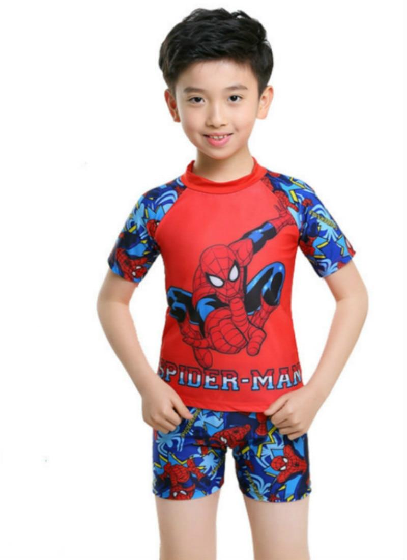 3 11Years Kids & Teen Boys Swimwear 2pcs Swim Suit( T ...