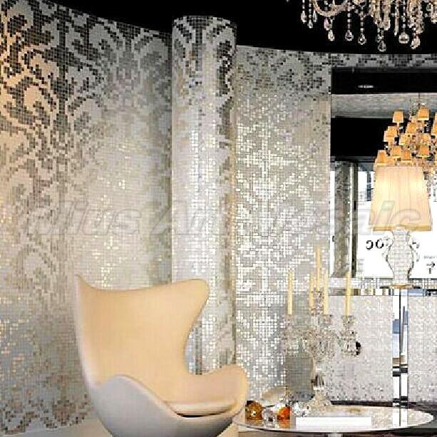 Италия Bisazza стиль пользовательского Стекло мозаика пазл Искусство украшения стены KL105