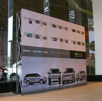 Wall&Media/Wedding/Party Flower Wall&Fabric Tension Banner Pop Up Exhibition Booth Display Stand&Backdrop poster