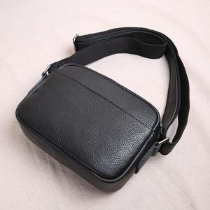 Image 3 - Aetooオリジナルミニ革男性のバッグトップ層の革のメンズ小さなバッグカジュアルな若者のショルダーバッグメッセンジャーバッグヴィンテージ