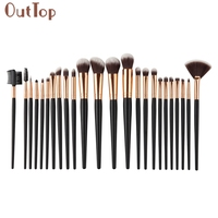 Pretty OutTop Good Quality 24PCS 1Set Cosmetic Makeup Brush Brushes Set Foundation Powder Eyeshadow Blusher Brush