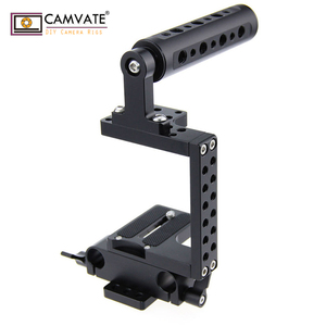 CAMVATE DSLR Camera Cage Steadicam Handheld Gimbal for BMCC Panassonic 4K Micro C0936 camera photography accessories