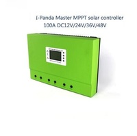 LCD 48V 100A mppt solar controller 12V 24V 36V 48V 100A PV regulator charge Sealed Lead Acid Vented Gel NiCd Lithium 5KW