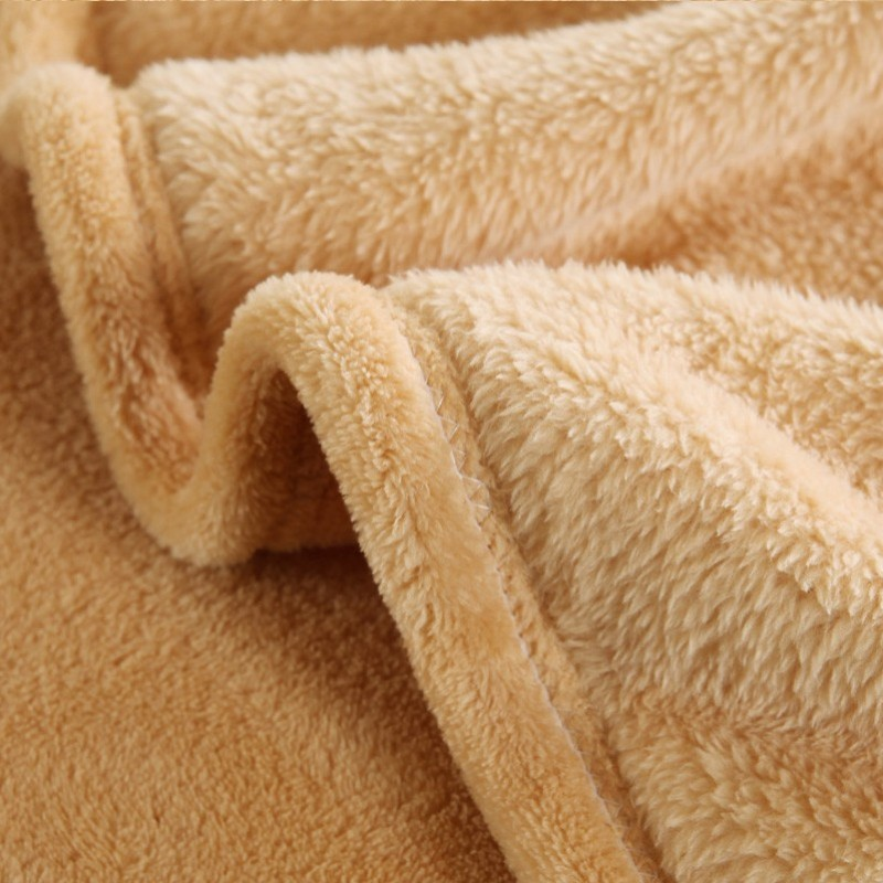 Solid color Flannel Blanket sofa/bedding Throws soft Plaids winter Warm flat sheet 150*200cm 180*200cm 200*230cm 230*250cm