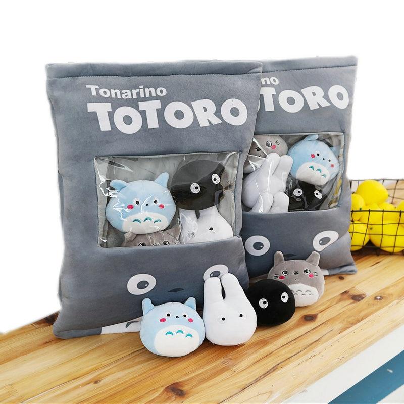 Mini Dolls Totoro Pillow  1