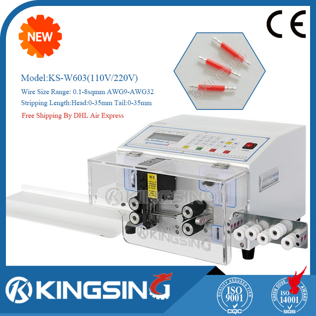 Serve High speed Double Wire Cutting Stripping Machine KS W603 For Processing Wire Harness Free Shipping_640x640 aliexpress com buy serve high speed double wire cutting wire harness machine at bayanpartner.co