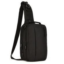 Top Quality Men 1000D Nylon Shoulder Messenger Bag Travel Assualt Military Cross Body Bags Sling Knapsack Chest Back Pack 4 Uses