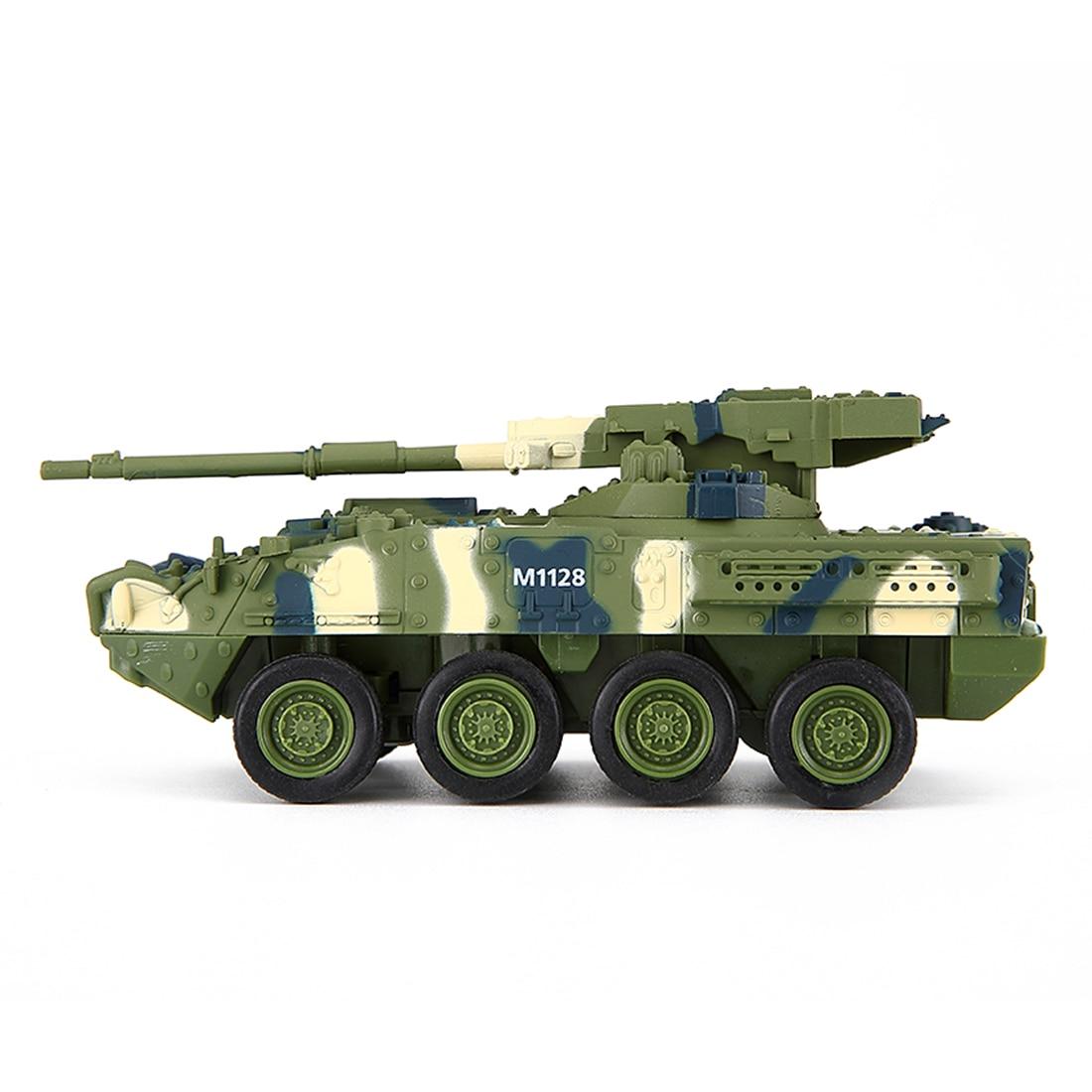 Creative Toy Magic Prestige 8021 Stryker Cannon Car RC Tank Military Model Toys - Green