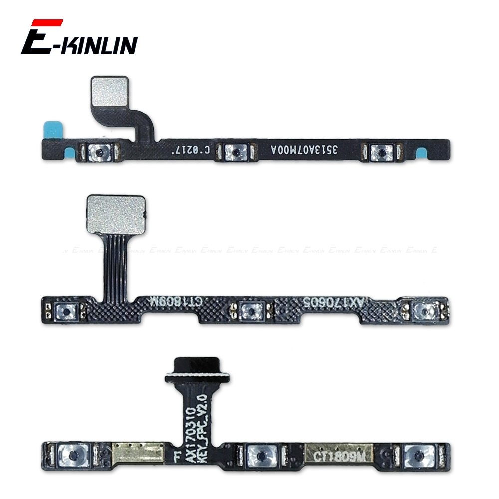 100% New For XiaoMi Mi 6 5 5C 5S Plus 4 4C 4i 4S Mix 2S Max 3 2 Power Switch On / Off Key Volume Button Flex Cable