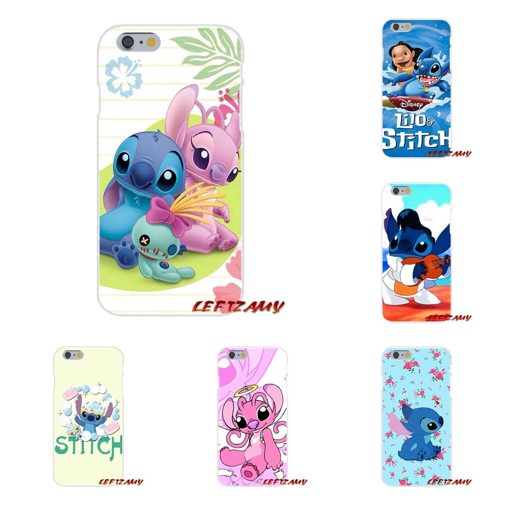 Accessories Phone Shell Covers Lilo & Stitch pink poster For Samsung Galaxy S3 S4 S5 MINI S6 S7 edge S8 S9 Plus Note 2 3 4 5 8