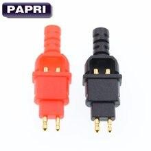 PAPRI – casque d'écoute HD650 plaqué or, 1 paire, adaptateur de prise amélioré pour HD600 HD265 HD525 HD535 HD545 HD565
