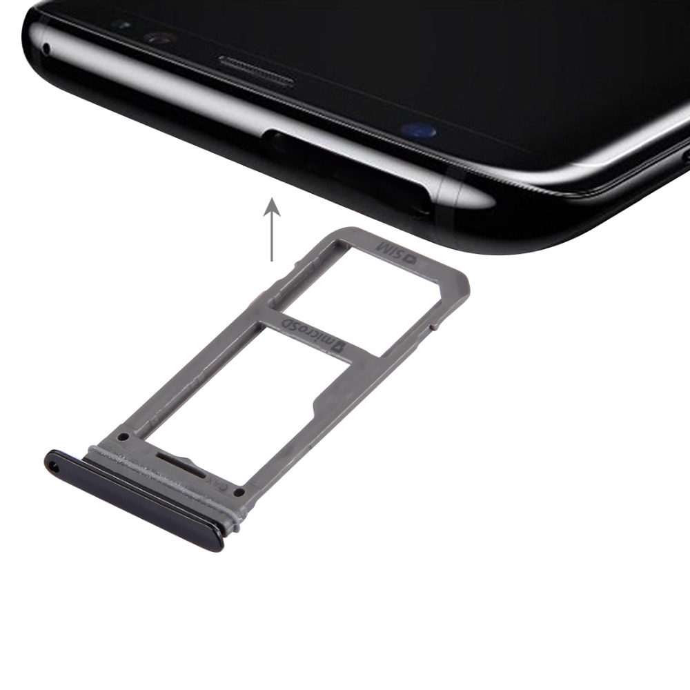 IPartsBuy New SIM Card Tray + Micro SD Tray For Galaxy S8