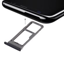 iPartsBuy New SIM Card Tray + Micro SD Tray for Galaxy S8(China)
