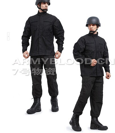 Us Army Military Uniform For Men Swat Training Black Suit
