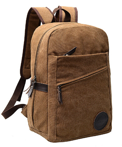 ФОТО 2017 European fashion Cool men backpack soft canvas high quality backpack for man women travel backpacks