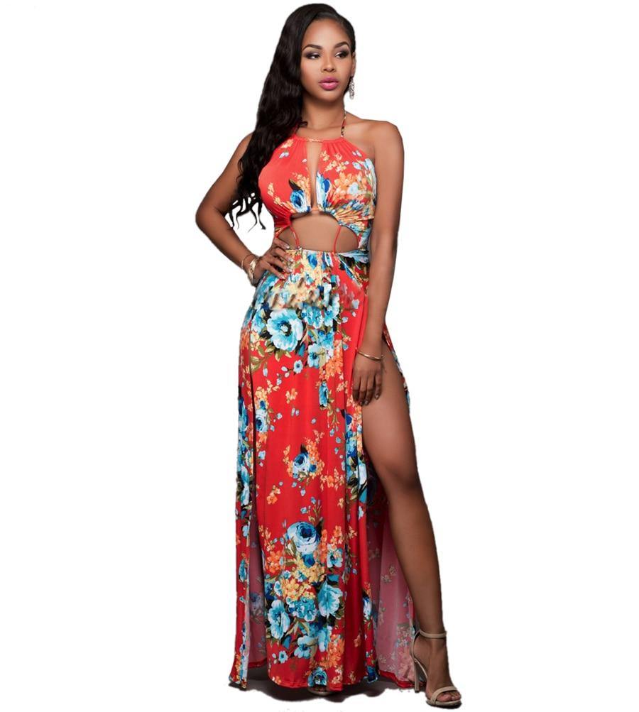 2016 Women's Bohemian Dresses Hawaii Holiday Style Sun ...