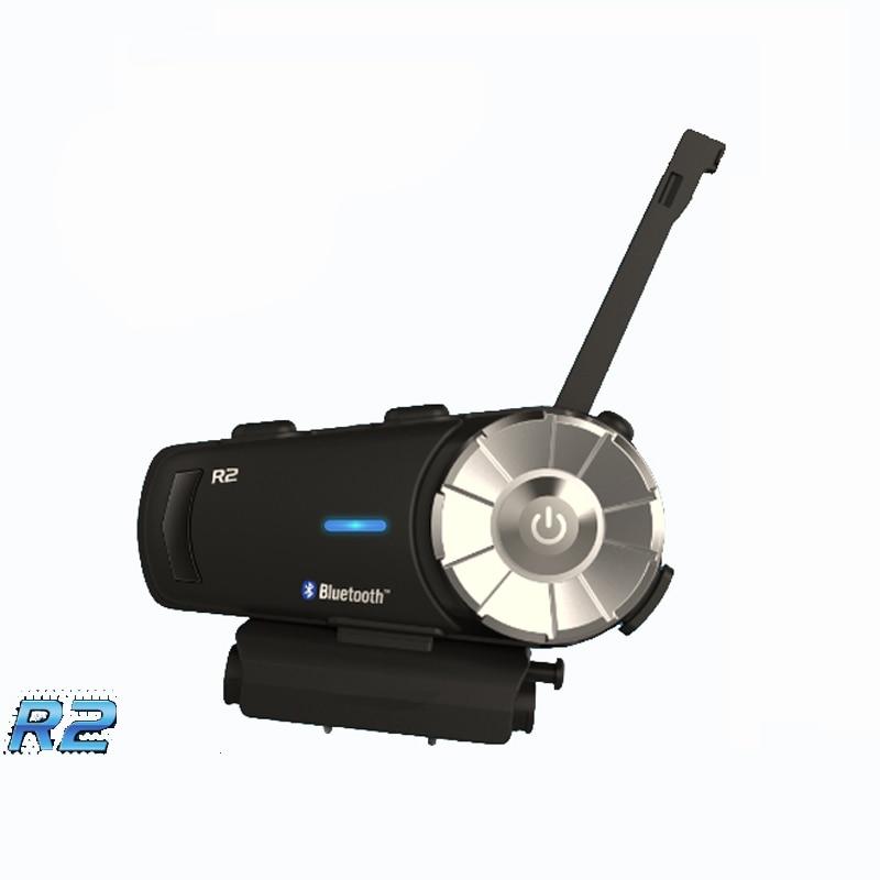 Airide R2 1000 m 4 Coureurs Moto Bluetooth Casque Groupe Interphone Casque FM Radio MP3 Commande Vocale Mains Libres BT Interphone