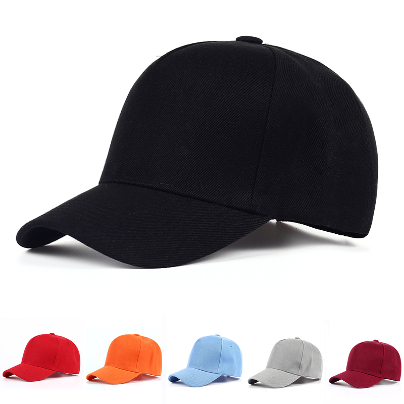 VORON Wholesale High Quality Cotton Adjustable Solid Color Baseball Caps Unisex hat Fashion Casual Snapback Cap Hip Hop Dad hats
