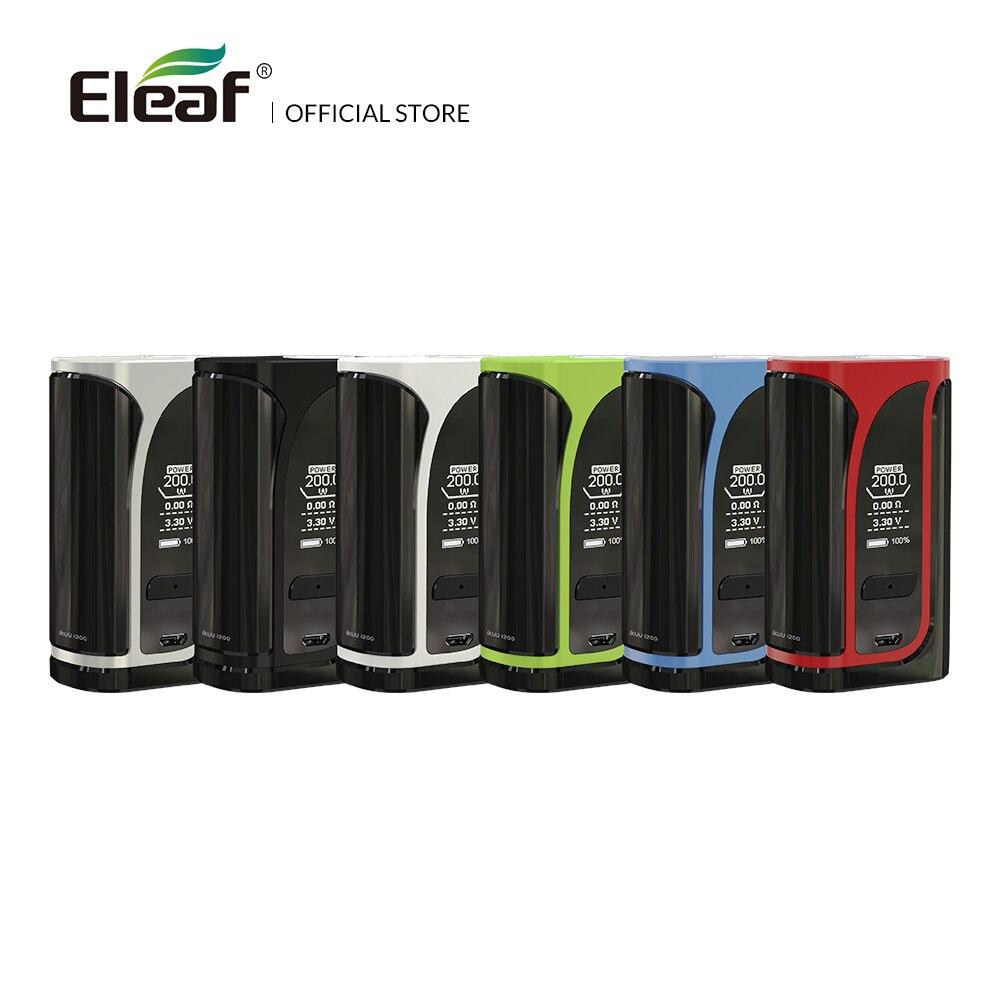 Entrepôt Origine Eleaf iKuu i200 boîte de TC Mod Avec 4600 mAh Construit dans La Batterie VW/TC Mode 510 Fil Électronique cigarette