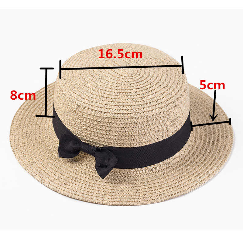 264d2035f77 ... Straw Ladies Hats Women Summer Panama Sun Caps Big Brim Sunshade Beach  Hat Female Jazz Cap ...