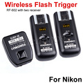 YONGNUO RF-602 2.4GHz Wireless Flash Trigger with Studio Cord  with 2 Receivers for Nikon