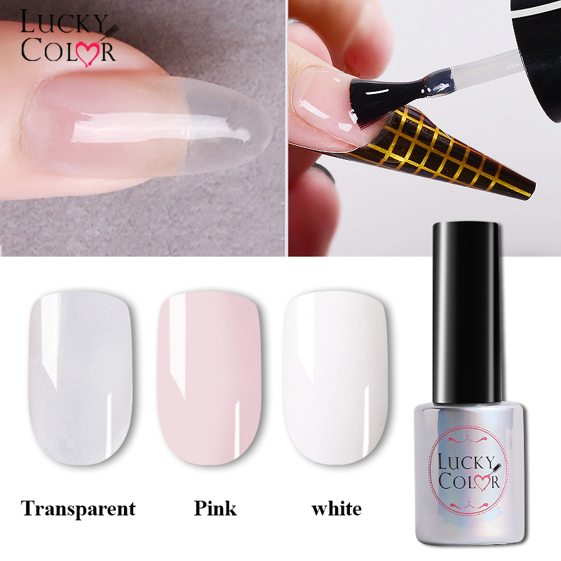 цена UV Nail Gel Extend Acrylic Liquid Mixed With Power Design For Fake Nail Extensions 1 Bottle 10ml