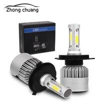 H4 LED H7 H11 H8 HB4 H1 H3 HB3 car S2 headlight bulb 72W 8000LM model 6500K 4300K 8000K led