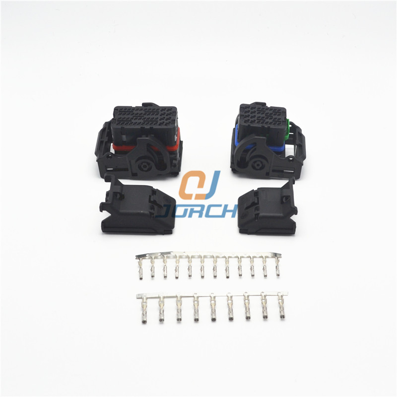 32 And 48 Pin Way Molex Automotive Wire Harness Connector Sets 643201311 643193211