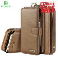 FLOVEME Wallet Phone Case For Samsung Galaxy S8 S8 Plus Note 8 Case For Samsung S7