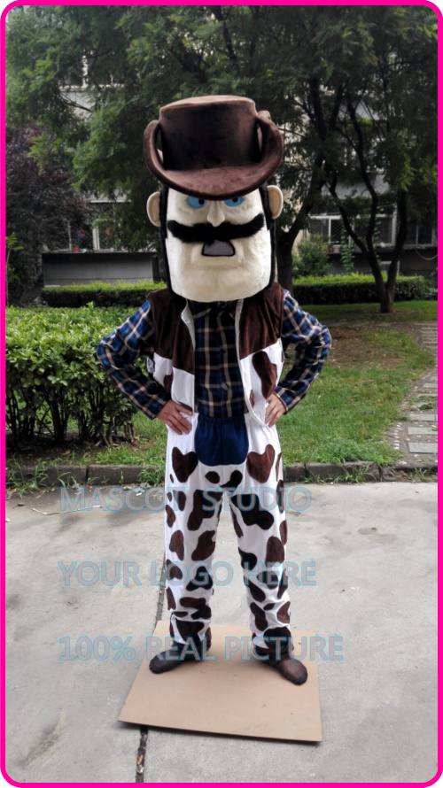 power cowboy mascot costume cow boy custom fancy costume anime cosplay kit mascotte theme fancy dress carnival costume 41256