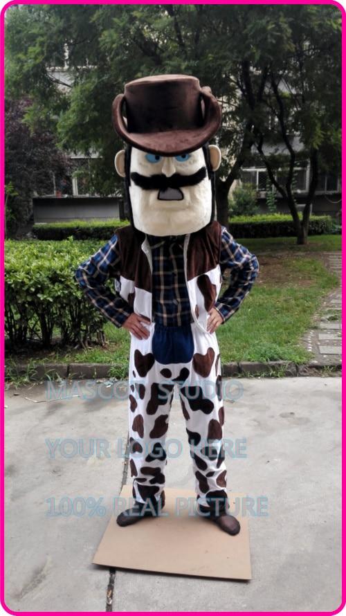 power cowboy mascot costume cow boy custom fancy costume anime cosplay kit mascotte theme fancy dress carnival costume 41256