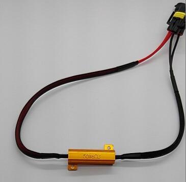 30 couleurs/lot HID 50W 6Ohom ou 8Ohom | Résistance pour ampoule à faisceau unique H1 H7 H8 H11 9005 9006 880